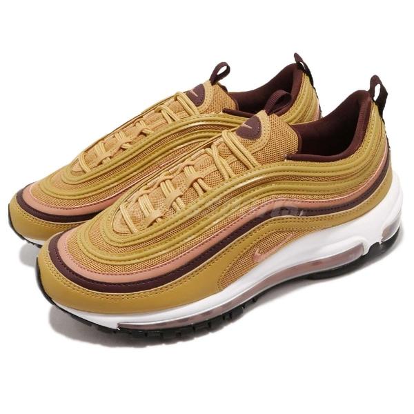 Nike 復古慢跑鞋 Wmns Air Max 97 Mustard 黃 芥末黃 粉紅 氣墊 女鞋 百搭款【ACS】 921733-700