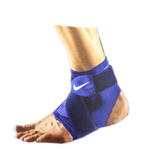 Nike Ankle Wrap 2.0 AP [NMZ13413XL] 運動 防護 支撐 壓縮 調整 護踝 藍 XL