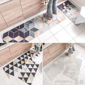 地毯 北歐廚房地墊防油污長條防滑腳墊進門門墊臥室床邊地毯  晶彩生活