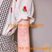 20張蝴蝶紋身貼防水女手臂心彩色胸部半永久仿真【奇妙商鋪】