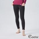 ADISI 女遠紅外線彈性保暖褲AUP1821101 (S-XL) / 城市綠洲 (抗靜電、白竹炭、消臭、發熱衣)