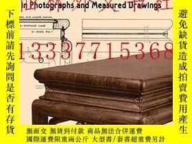 二手書博民逛書店【罕見】Chinese Domestic Furniture i