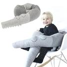 ins北歐風鱷魚嬰兒床床圍兒童寶寶圍欄防撞頭保護圍擋兒童房裝飾 小山好物