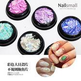彩色大貝殼片不規則鮑魚片(單罐) 天然貝殼片 超薄五彩 原色貝殼片《NailsMall美甲美睫批發》