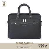 Kinloch Anderson 金安德森 公事包 WORK 商務手提公事包 黑色 KA182001 得意時袋