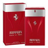 Ferrari MAN IN RED 法拉利極勁紅男性淡香水 100ml 36076《Belle倍莉小舖》
