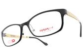 Alphameer 光學眼鏡 AM3505 C50 (黑-珠光金) 時尚潮流款 塑鋼眼鏡 # 金橘眼鏡
