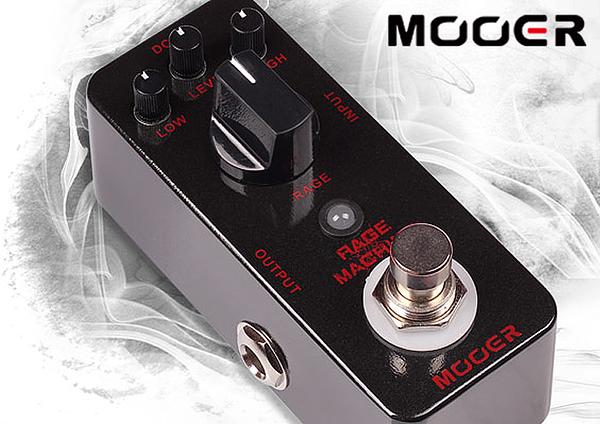 小叮噹的店- MOOER Rage Machine 金屬 失真 單塊效果器 (MREG-RM)