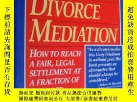 二手書博民逛書店A罕見GUIDE TO DIVORCE MEDIATION:Ho