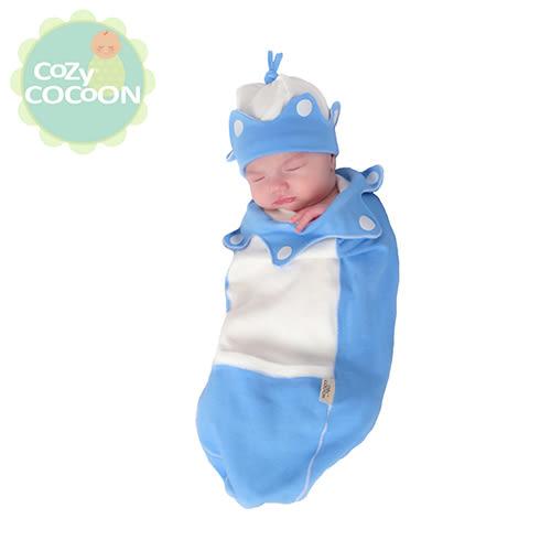 [Cozy Cocoon]美國原裝 純棉嬰兒造型包巾-灰色小老鼠
