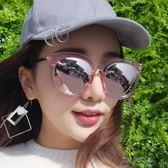 太陽鏡女潮新款楊冪明星同款圓臉偏光網紅墨鏡有度數近視眼鏡     俏女孩
