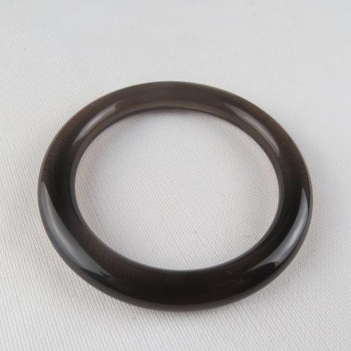 天然黑曜石手鐲 #1397 57.6mm