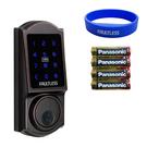 加安電子鎖 G9X7D01BCE(TD-509PC) 三合一 觸控式電子輔助鎖 台灣製造原廠保固一年 贈手環&電池