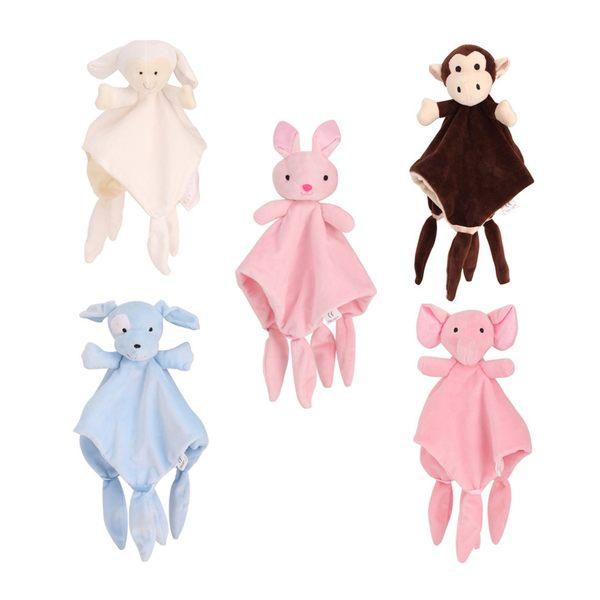 安撫巾 動物造型安撫玩偶 細緻柔軟好安心 彌月禮 週歲禮 新生兒86013