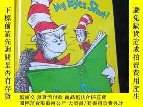 二手書博民逛書店【英文原版漫畫書】I罕見Can Read with My Eyes Shut by Dr.Seuss`s(精裝 原