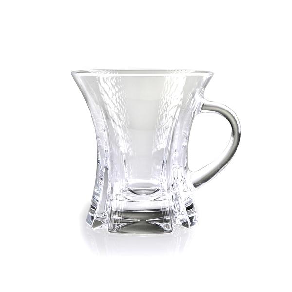 斯洛維尼亞 Rogaska Polar Light S/1 Tea Cup 170ml 南境之光系列 手工水晶 茶杯