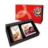 綠源寶禮盒A15(穀果營養棒+薄鹽薯條)