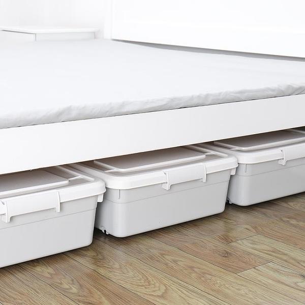 特大號床底收納箱扁平抽屜式塑料收納盒子床下整理箱 NMS 露露日記