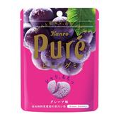 日本甘樂鮮果實軟糖-葡萄56G【愛買】