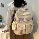 初中生書包女韓版高中學生大容量多兜可愛少女小學生雙肩包潮