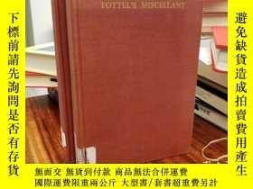 二手書博民逛書店Tottel s罕見Miscellany, 1557-1587Y