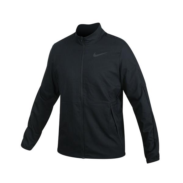 NIKE 男吸濕排汗訓練外套(免運 Dri-FIT 梭織 立領外套 慢跑 路跑≡排汗專家≡