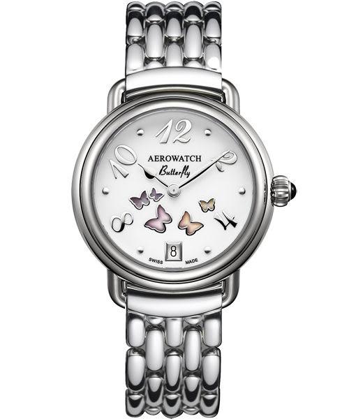 AEROWATCH Collection 彩蝶飛舞腕錶 A44960AA01M