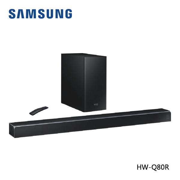 【限時特賣+24期0利率】SAMSUNG 三星 5.1.2聲道 Soundbar HW-Q80R / ZW 家庭劇院 公司貨