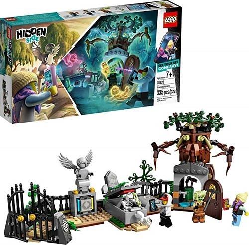 LEGO 樂高  Hidden Side Graveyard Mystery 70420 Building Kit, New 2019 (335 Pieces)