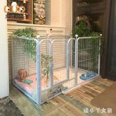 寵物圍欄室內大型犬金毛狗中型犬寵物泰迪小型犬小狗籠子 XW3040【潘小丫女鞋】