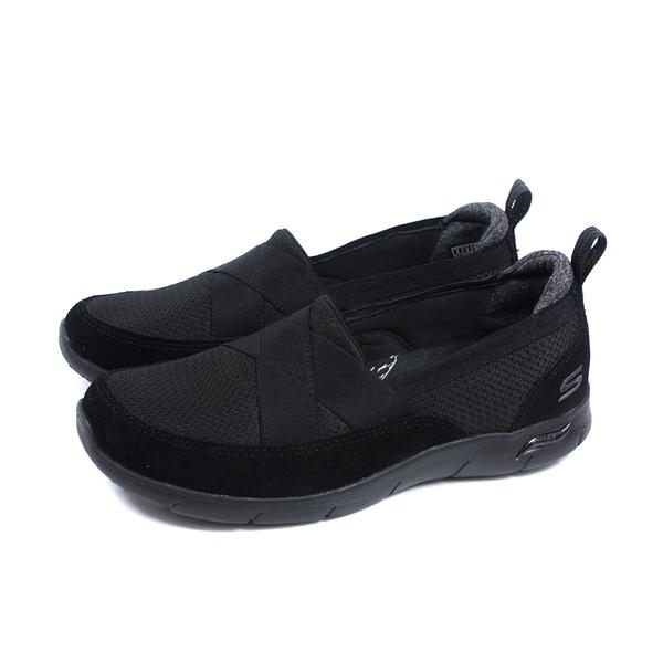 SKECHERS ArchFit 運動鞋 懶人鞋 女鞋 黑色 104270WBBK no400