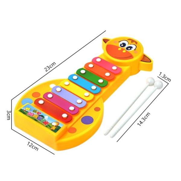 兒童音樂手敲琴八音長頸鹿敲琴鋼琴樂器玩具