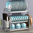 碗筷架 瀝水架家用廚房置物架神器多功能涼盤子晾放碗碟架碗筷收納盒【快速出貨八折搶購】