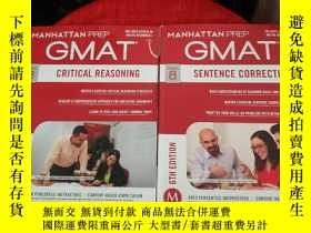 二手書博民逛書店GMAT—Critical罕見Reasoning+Sentence Correction:6th Edition【