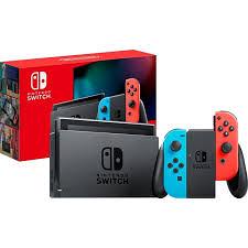 Nintendo Switch 藍紅主機電力加強版*1+明星大亂鬥遊戲*1 現貨 原廠公司貨