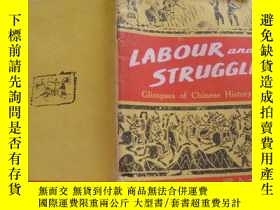 二手書博民逛書店LABOUR罕見and STRUGGLEY11966 LABOU
