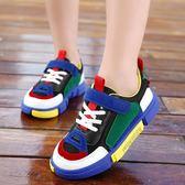 兒童鞋子男童新款韓版休閒鞋女童運動鞋 萬客居