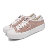Fila 休閒鞋 C910T 粉紅 淡粉 白 女鞋 運動鞋 低筒 餅乾鞋 【PUMP306】 5C910T511