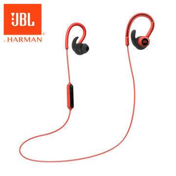 【台中平價鋪】全新『 JBL Reflect Contour 紅色 』 耳掛式運動無線藍牙耳機/藍芽4.0/防汗/反光線