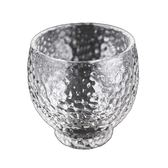 一間時光||家用無鉛玻璃白酒杯錘目紋小酒盅清酒黃酒酒杯一口杯 初語生活館