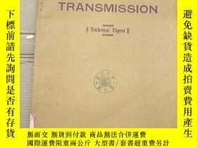 二手書博民逛書店optical罕見fiber transmission(P2720)Y173412