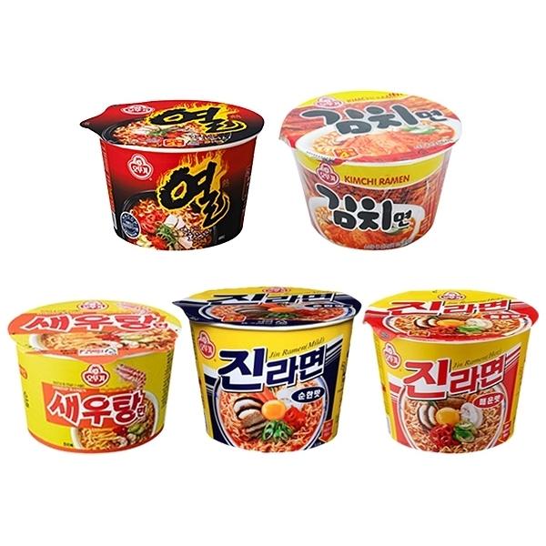 韓國不倒翁 碗麵(1入) 5款可選【小三美日】團購/泡麵
