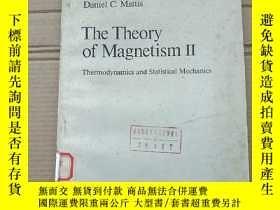二手書博民逛書店the罕見theory of magnetism II(P2008)Y173412