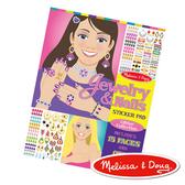 美國瑪莉莎 Melissa & Doug 時尚貼貼樂–珠寶與指甲彩繪
