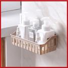<特價出清>加厚鏤空浴室廚房置物收納架 強力無痕貼 免打孔【AP07009】i-Style居家生活