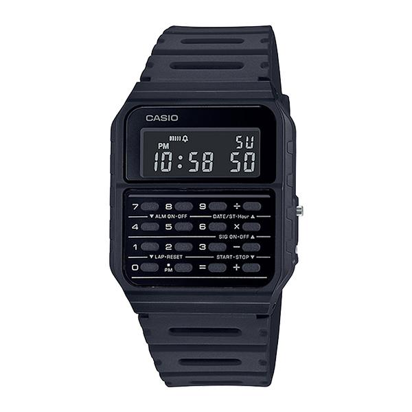CASIO 手錶專賣店卡西歐 CA-53WF-1B 復古計算機電子錶 橡膠錶帶 全自動日曆 日常生活防水