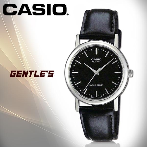 CASIO卡西歐 手錶專賣店 MTP-1095E-1A 指針男錶 皮革錶帶 生活防水 礦物防刮玻璃