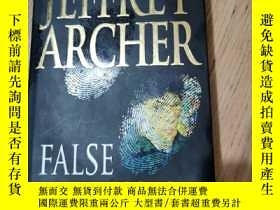 二手書博民逛書店jeffrey罕見archer false impression