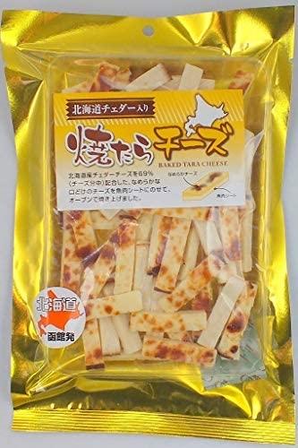 【 北海道 魚板烤起司條】日本原裝 一夜干 魷魚 魷魚乾 下酒菜 消夜【小福部屋】