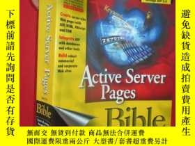 二手書博民逛書店Active罕見Server Pages Bible ( 16開